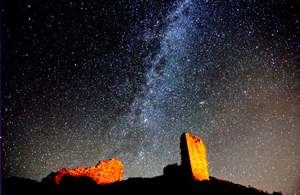 1 Milky Way over Harbottle Castle Ian Glendinning