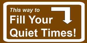 Fill your_quiet_times