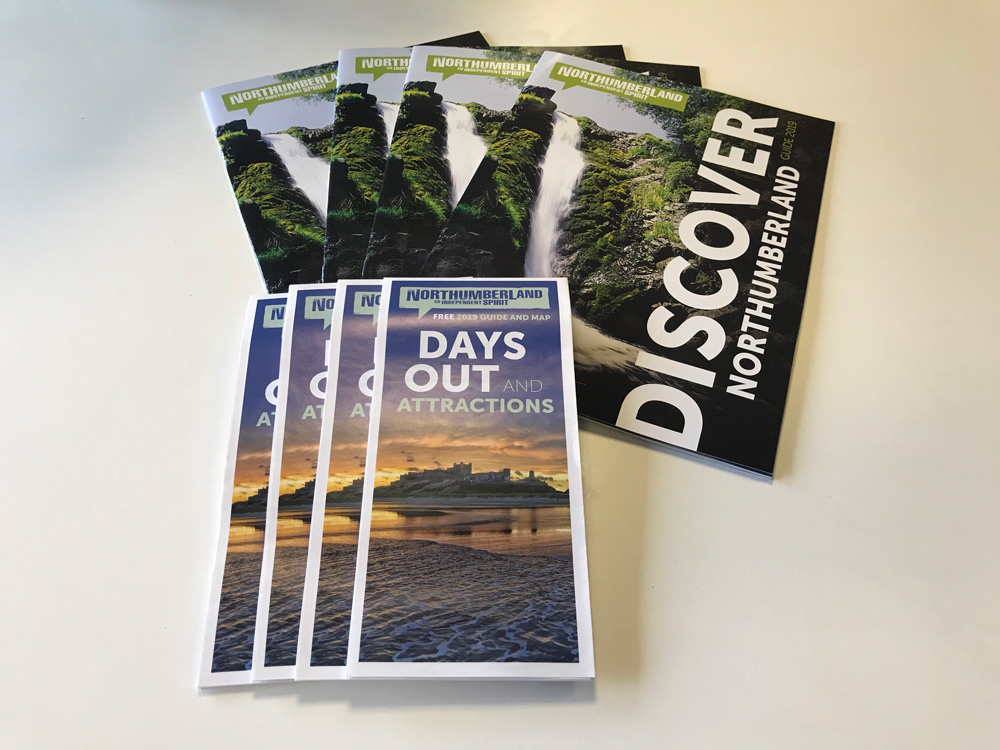 Ordering Leaflets and Visitor Guides - Northumberland Tourism